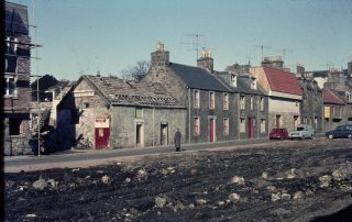 Building of the 'middle' Byre, circa 1969